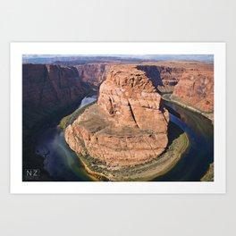 Horseshoe Bend - Page, AZ Art Print