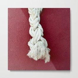 Marine rope Metal Print