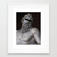 anonymous Framed Art Prints featuring Anonymous by Logan Amick