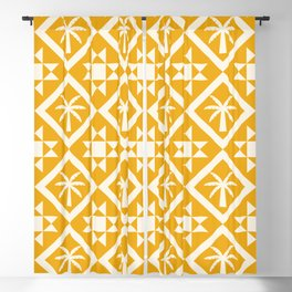 Bohemian Geometric Pattern 03B Blackout Curtain