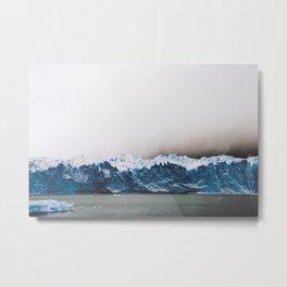 Argentinian glacier Metal Print