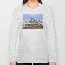 The Sea of Ice - Caspar David Friedrich Long Sleeve T-shirt