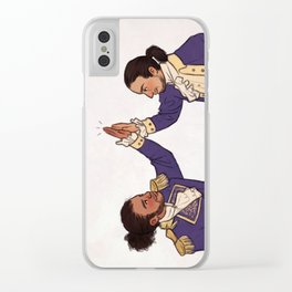 Immigrants - we get the job done Clear iPhone Case