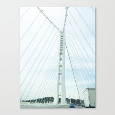 new bay bridge  Canvas Print