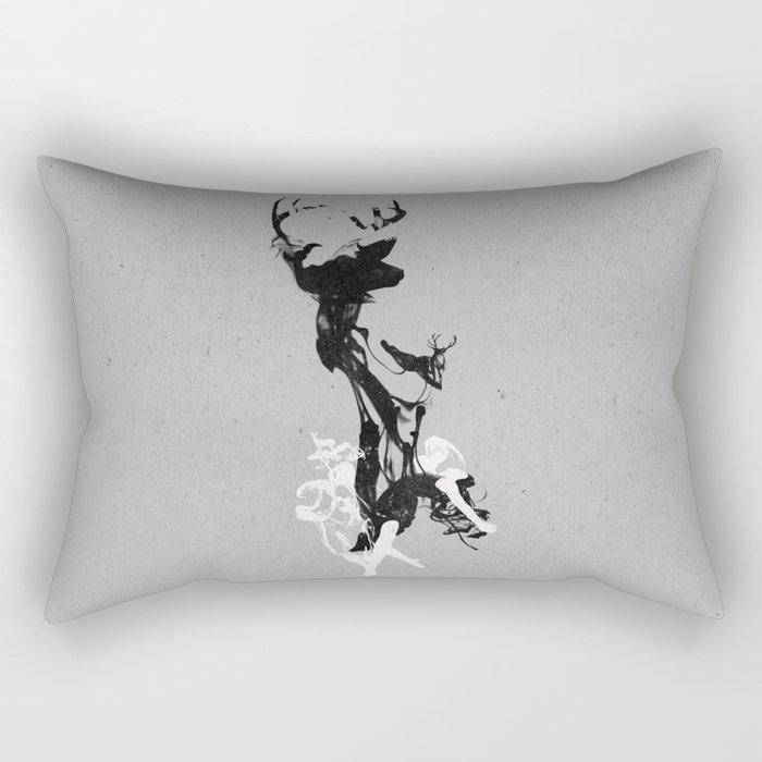 Last time I was a Deer Rectangular Pillow