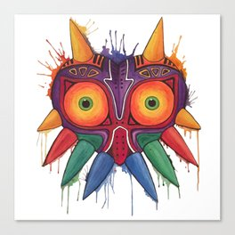 Majoras Mask Canvas Print