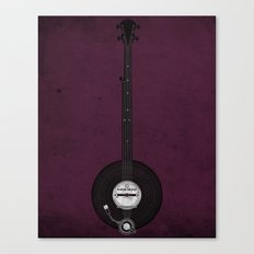Banjo Beats Canvas Print
