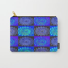 Many Blue Stars Carry-All Pouch