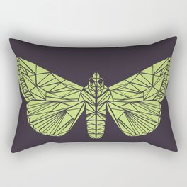 The envy of the moth - Geometric design Rectangular Pillow