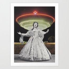 Alien Jane Art Print