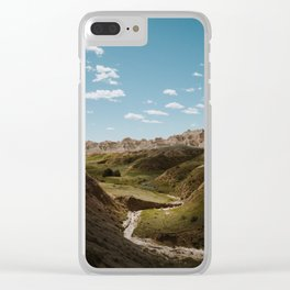 Yellow Mounds - Badlands National Park Clear iPhone Case