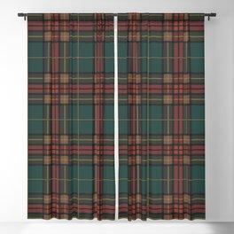 Tartan fabric, Scottish cloth Blackout Curtain