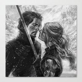 Shall we dance? Canvas Print