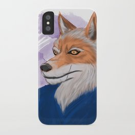 Yahei from 47 Furious Tails: Art by Alexia Veldhuisen iPhone Case