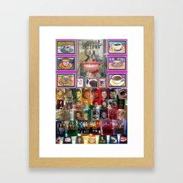 Cup, Star Trek, Richard III,SMILE Framed Art Print