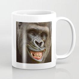 Smiling Gorilla (^_^) Coffee Mug