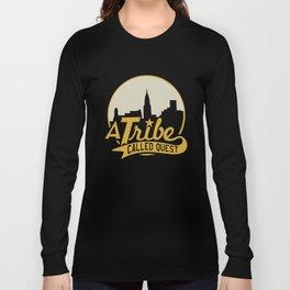 A Tribe Called Quest City Skyline Atcq Hip-Hop Rap Native Tongues Hip Hop T-Shirts Long Sleeve T-shirt
