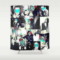 smoke Shower Curtains featuring Smoke by victorygarlic - Niki