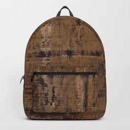 Dark brown painting Backpack