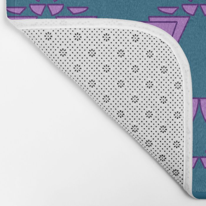 Wing of time Bath Mat