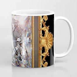 Royal Princess cut Diamond Coffee Mug