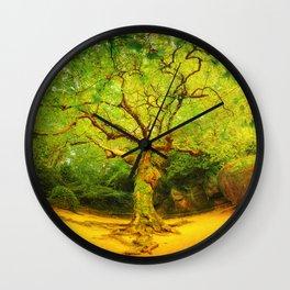 Golgotha Tree Wall Clock
