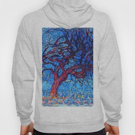 The Red Tree - Piet Mondrian Hoody