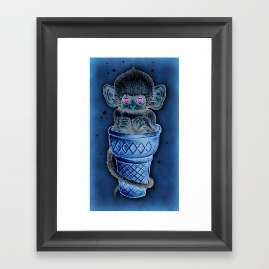 Soft Serve Framed Art Print