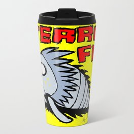 Terror fish Metal Travel Mug