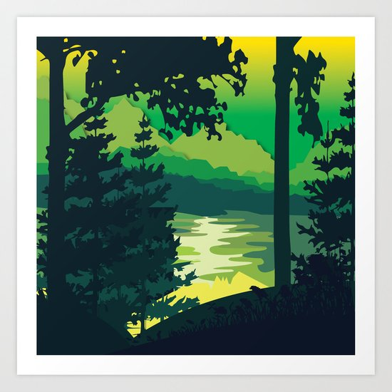 My Nature Collection No. 2 Art Print