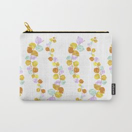 Colorful eucalyptus leaves Carry-All Pouch