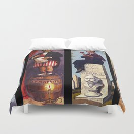 haunted mansion People Duvet Cover