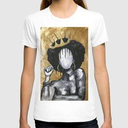 Naturally Queen GOLD T-shirt
