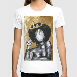 Naturally Queen GOLD T-shirt