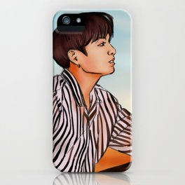 Sunset Jungkook iPhone Case