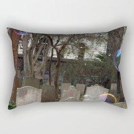 Graveyard Bubbles Rectangular Pillow