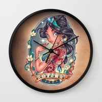 royal Wall Clocks featuring Royal Blood by Tim Shumate