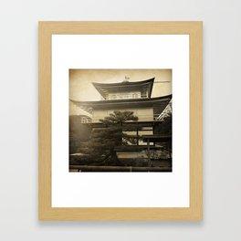 Golden Temple Kyoto Framed Art Print