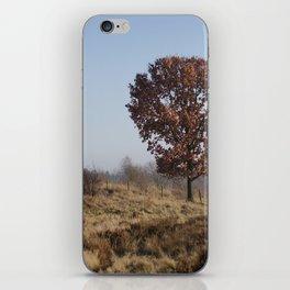 Single Tree On Chasewater Heath iPhone Skin
