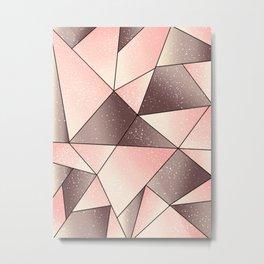Pink tape art Metal Print