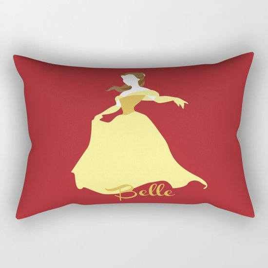 Belle from Beauty and the Beast Disney Rectangular Pillow
