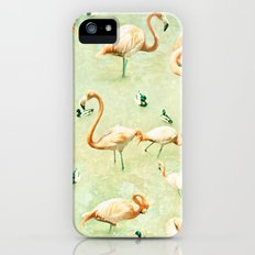 Flamingos iPhone (5, 5s) Slim Case