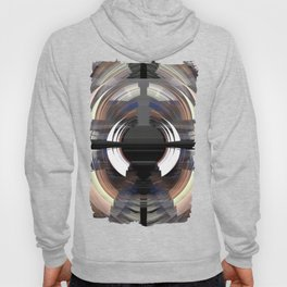 Tunnel vision, modern fractal abstract art Hoody