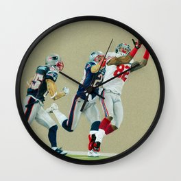Toe Tappin' - Colored Pencil Sports Wall Clock