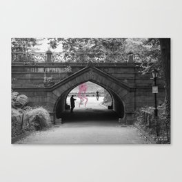 Unseen Monsters of New York - Booboo Limpid Canvas Print