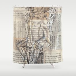 Someone I can kiss Shower Curtain
