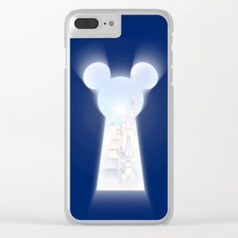Unlock the Memories Clear iPhone Case