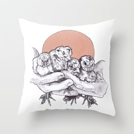 Hold What You Got Throw Pillow
