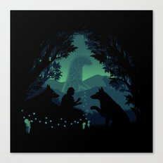 Forest Dwellers Canvas Print