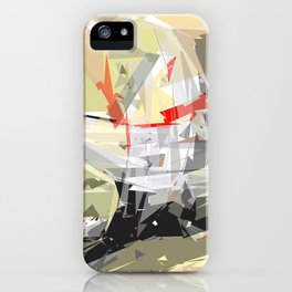 rotating polygones iPhone Case